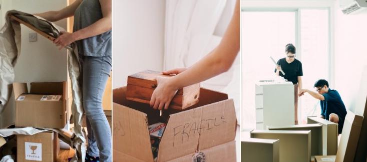 كيفية تحريك الأثاث بنفسك